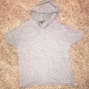 Victoria Secret short sleeve shirt with hood